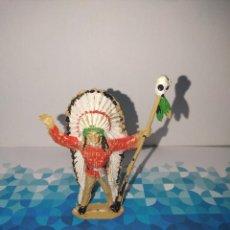 Figuras de Goma y PVC: FIGURA INDIO COMANSI. Lote 257726935