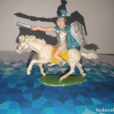 Figuras de Goma y PVC: FIGURA ROMANO A CABALLO OLIVER. Lote 257728105