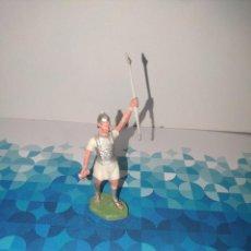 Figuras de Goma y PVC: FIGURA ROMANO CON LANZA OLIVER. Lote 257728265