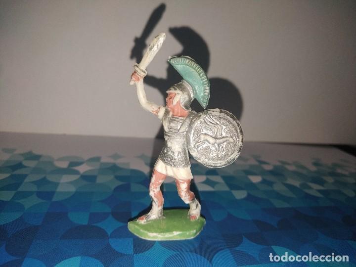 FIGURA ROMANO CON ESPADA Y ESCUDO OLIVER (Juguetes - Figuras de Goma y Pvc - Otras)