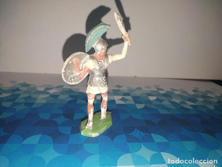 Figuras de Goma y PVC: Figura romano con espada y escudo Oliver - Foto 2 - 257728415