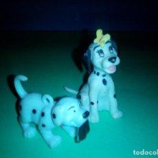 Figuras de Goma y PVC: LOTE 2 FIGURAS DALMATAS DISNEY. Lote 257731420