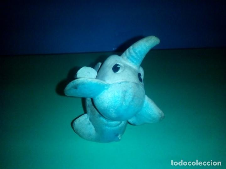 Figuras de Goma y PVC: antiguo muñeco goma elefante - Foto 3 - 257731685