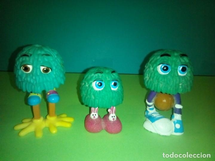 LOTE 3 FIGURAS FRY GUY 1989 HAPPY MEAL MCDONALDS (Juguetes - Figuras de Goma y Pvc - Otras)