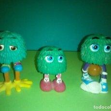 Figuras de Goma y PVC: LOTE 3 FIGURAS FRY GUY 1989 HAPPY MEAL MCDONALDS. Lote 257731775