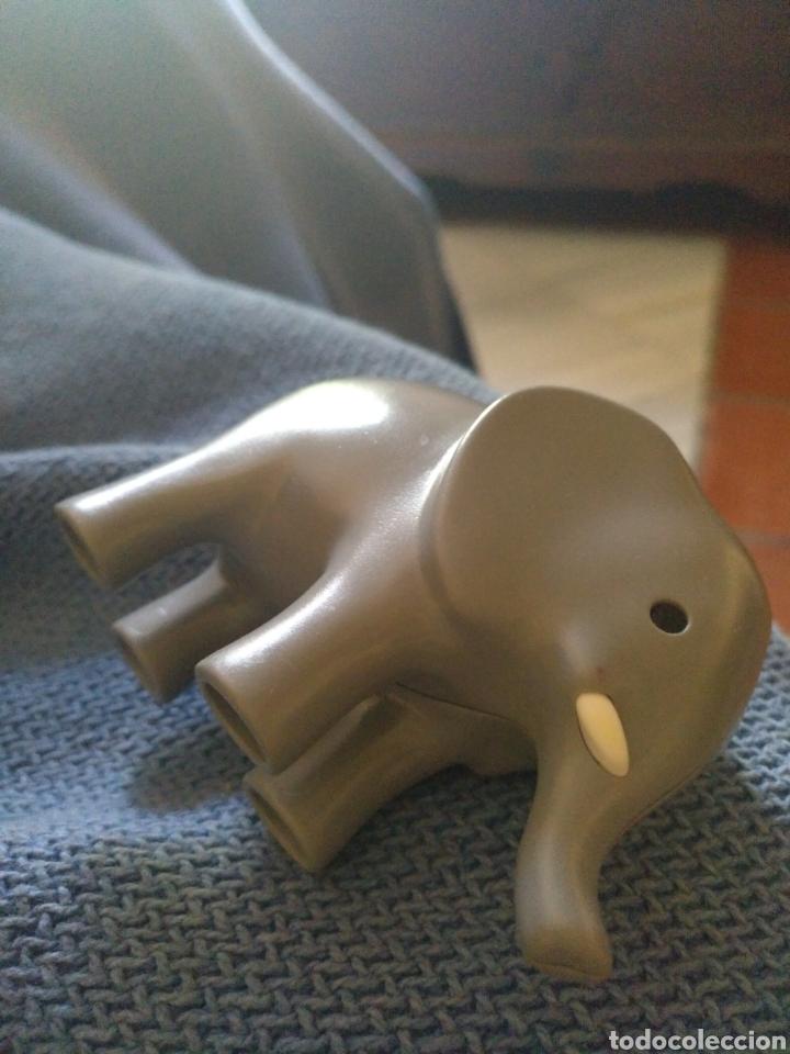 Figuras de Goma y PVC: Elefante de Plástico Duro - Foto 2 - 257731790