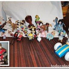 Figuras de Goma y PVC: OCASION COLECCIONISTAS ! LOTE DE MUÑECOS FIGURAS GOMA PVC AÑOS 80 90 2000 MUY VARIADOS DISNEY .... Lote 257732900