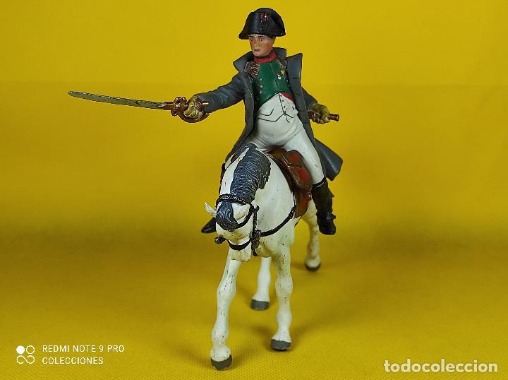 Figuras de Goma y PVC: Papo Napoleón a caballo - Foto 3 - 257732925