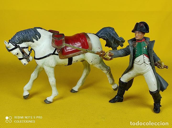 Figuras de Goma y PVC: Papo Napoleón a caballo - Foto 4 - 257732925