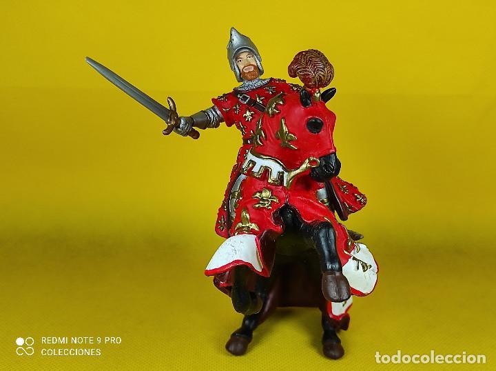 Figuras de Goma y PVC: Papo Caballero Frances - Foto 3 - 227099205