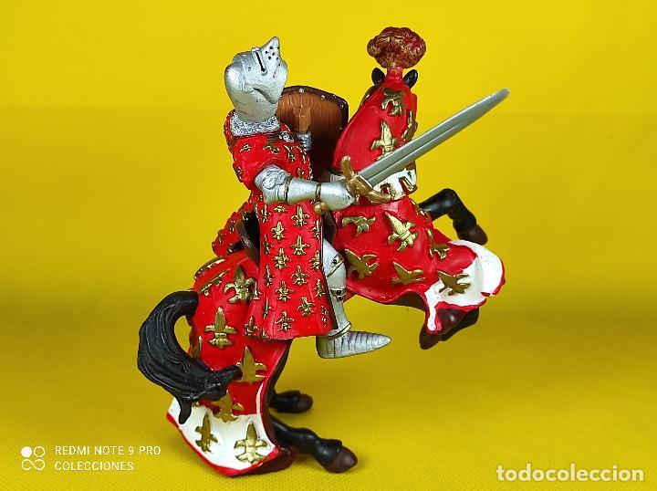 Figuras de Goma y PVC: Papo Caballero Frances - Foto 2 - 227099205