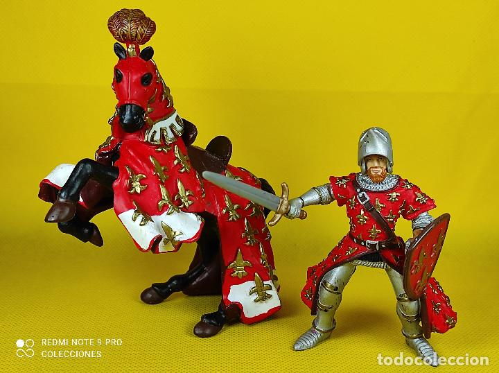 Figuras de Goma y PVC: Papo Caballero Frances - Foto 4 - 227099205