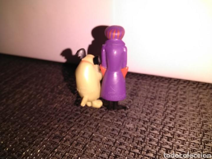 Figuras de Goma y PVC: Figura 5,5 cm de alto PVC Pierre Nodoyuna o Dick Dastardly Autos Locos y Figura risitas patan - Foto 5 - 257734370