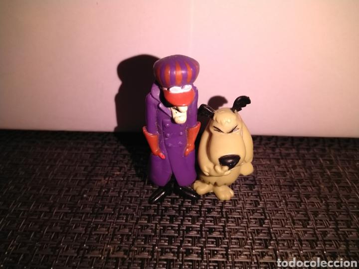 Figuras de Goma y PVC: Figura 5,5 cm de alto PVC Pierre Nodoyuna o Dick Dastardly Autos Locos y Figura risitas patan - Foto 8 - 257734370