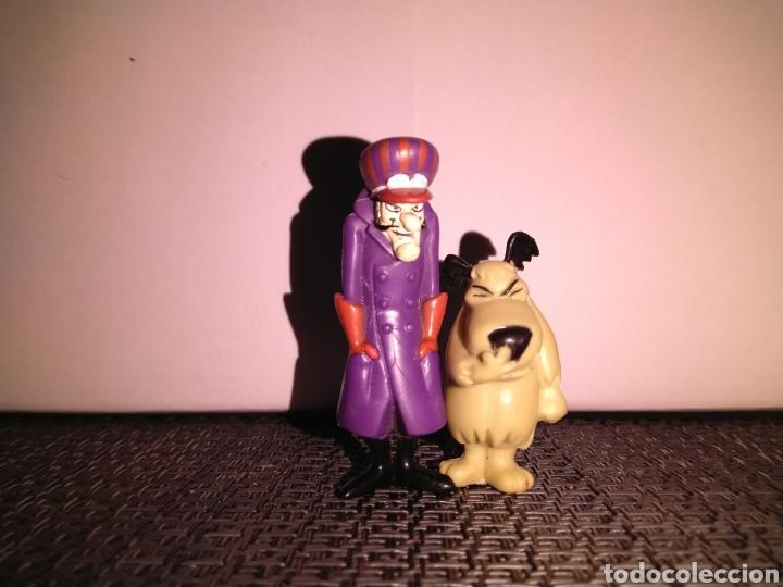 Figuras de Goma y PVC: Figura 5,5 cm de alto PVC Pierre Nodoyuna o Dick Dastardly Autos Locos y Figura risitas patan - Foto 2 - 257734370
