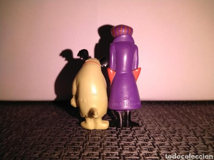 Figuras de Goma y PVC: Figura 5,5 cm de alto PVC Pierre Nodoyuna o Dick Dastardly Autos Locos y Figura risitas patan - Foto 4 - 257734370