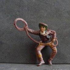 Figuras de Borracha e PVC: TEIXIDO COWBOY. Lote 257736800