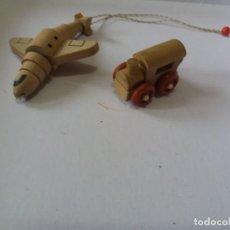 Figuras Kinder: LOTE DE FIGURAS DE KINDER DE MADERA. Lote 257896775