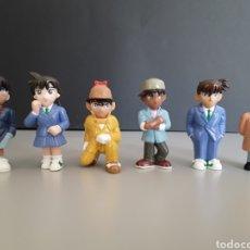 Figuras de Goma y PVC: LOTE 6 FIGURAS PVC SERIE DETECTIVE CONAN MANGA MARUKATSU NUEVAS. Lote 258161625