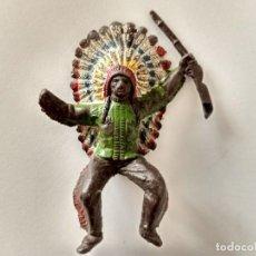Figuras de Goma y PVC: FIGURA INDIO COMANSI. Lote 258691085