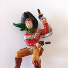 Figuras de Goma y PVC: FIGURA VAQUERO LAFREDO PECH. Lote 258727755