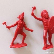 Figuras de Goma y PVC: FIGURAS INDIOS TEIXIDO. Lote 258742270