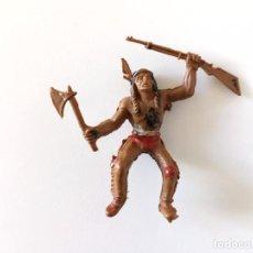 Figuras de Goma y PVC: FIGURA INDIO LAFREDO. Lote 258742835