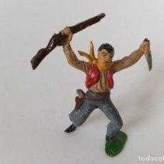 Figuras de Goma y PVC: FIGURA VAQUERO JECSAN PECH. Lote 258743360