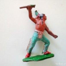 Figuras de Goma y PVC: FIGURA INDIO TEIXIDO LAFREDO. Lote 258743730