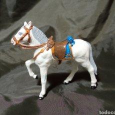 Figuras de Goma y PVC: CABALLO BLANCO DE GOMA DESFILE REAMSA GOMARSA SOLDIS. Lote 259001235