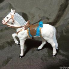 Figuras de Goma y PVC: CABALLO BLANCO DESFILE REAMSA GOMARSA SOLDIS. Lote 259002815