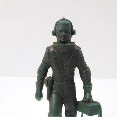 Figuras de Goma y PVC: ASTRONAUTA . POSIBLE MOLDE DE NOVOPLAST . REALIZADO EN PLASTICO MONOCOLOR . ORIGINAL AÑOS 60 / 70. Lote 259018635