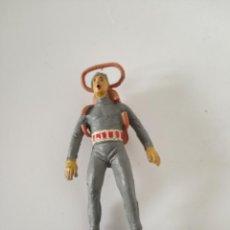 Figuras de Goma y PVC: FIGURA SUBMARINISTA JECSAN GOMA. Lote 259038870