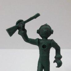 Figuras de Goma y PVC: ROBOT - INTERPLANETARIO . POSIBLE MOLDE DE NOVOPLAST . PLASTICO MONOCOLOR . ORIGINAL AÑOS 60 / 70. Lote 259219345