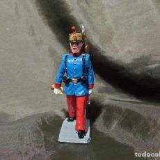 Figuras de Goma y PVC: REF: 701 DESFILE INFANTERÍA DEL REY CORNETA DE GOMA REAMSA GOMARSA SOLDIS. Lote 259251125