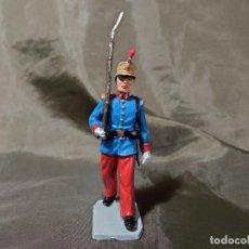 Figuras de Goma y PVC: REF: 701 DESFILE INFANTERÍA DEL REY FUSILERO DE GOMA REAMSA GOMARSA SOLDIS. Lote 259259040