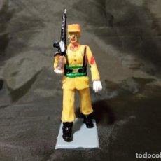 Figuras de Goma y PVC: REF: 714 DESFILE REGULARES DE GOMA FUSIL REAMSA GOMARSA SOLDIS. Lote 259264115
