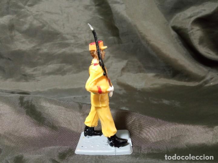 Figuras de Goma y PVC: Ref: 714 Desfile Regulares de goma fusil Reamsa Gomarsa Soldis - Foto 4 - 259265305