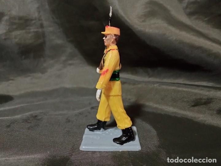 Figuras de Goma y PVC: Ref: 714 Desfile Regulares de goma fusil Reamsa Gomarsa Soldis - Foto 2 - 259265435