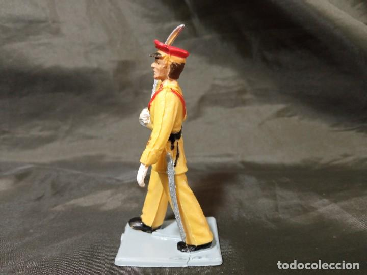 Figuras de Goma y PVC: Ref: 714 Desfile Regulares de goma capitán Reamsa Gomarsa Soldis - Foto 2 - 259266105
