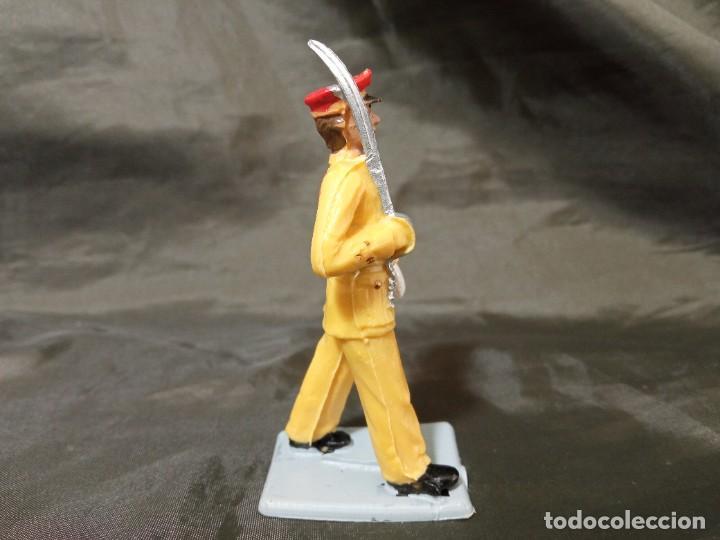 Figuras de Goma y PVC: Ref: 714 Desfile Regulares de goma capitán Reamsa Gomarsa Soldis - Foto 4 - 259266105