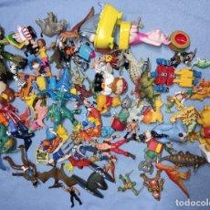 Figuras de Goma y PVC: GRAN LOTE DE FIGURAS DE PLASTICO Y GOMA MUY VARIADO VER FOTOS. Lote 259310635