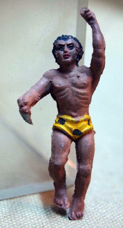 FIGURA DE GOMA, TARZAN, FABRICADO POR LAFREDO (Juguetes - Figuras de Goma y Pvc - Lafredo)