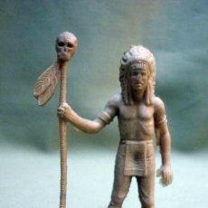 Figuras de Goma y PVC: FIGURA DE PLASTICO, PIPERO, INDIO. Lote 259772290