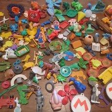 Figuras Kinder: GRAN LOTE 185 PIEZAS, MUÑECOS FIGURAS GOMA O PVC, MAYORÍA COLECCIÓN KINDER, IDEAL COLECCIONISTA. Lote 259829715