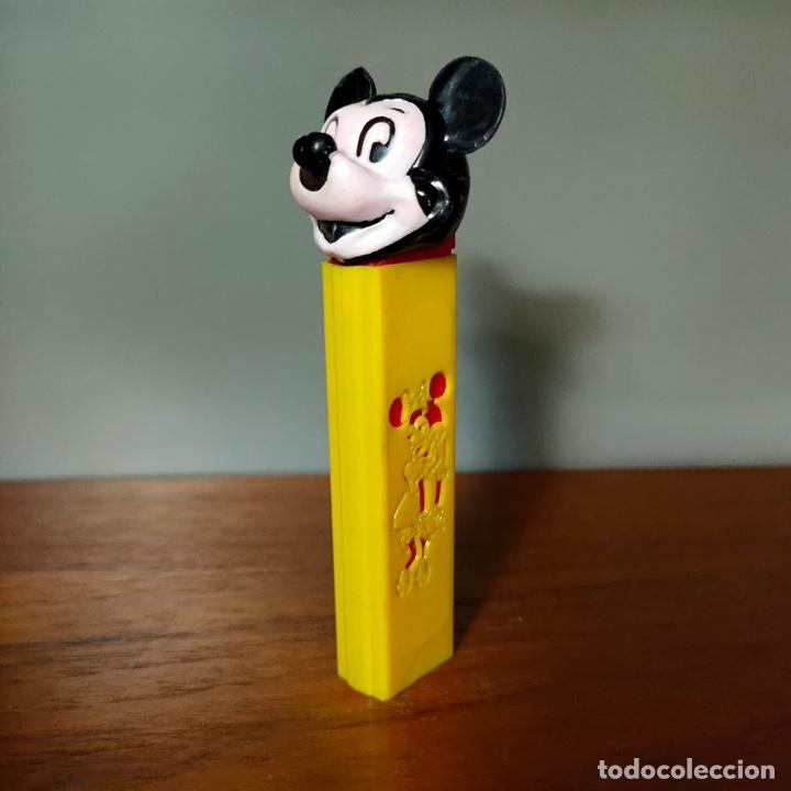 Dispensador Pez: Dispensador Pez Mickey con lateral troquelado. El más raro y buscado. - Foto 2 - 259901345