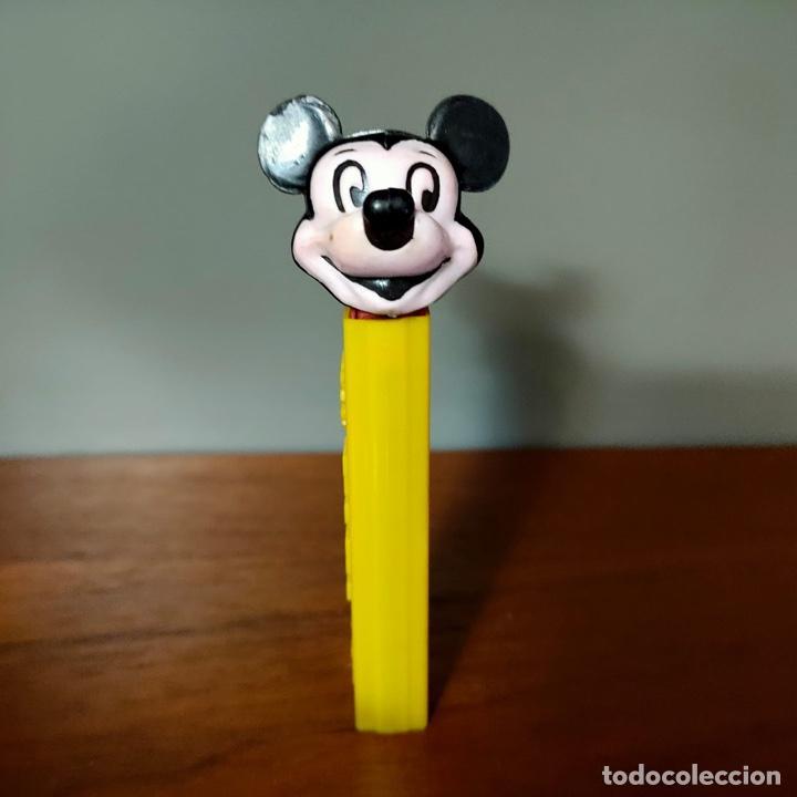 Dispensador Pez: Dispensador Pez Mickey con lateral troquelado. El más raro y buscado. - Foto 3 - 259901345