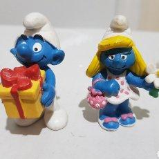 Figuras de Borracha e PVC: PITUFOS PVC SCHLEICH. Lote 259931335