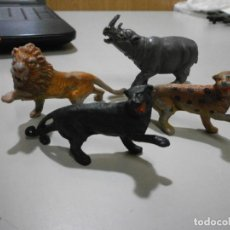 Figuras de Borracha e PVC: TEIXIDO LOTE DE ANIMALES SERIE TBO MORCILLON Y BABALI. Lote 259996130