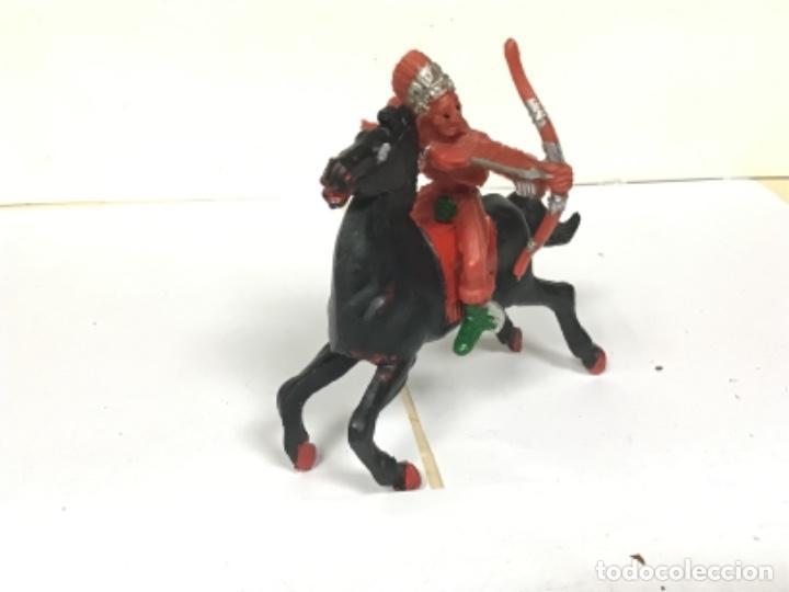 INDIO LAFREDO REIGON OESTE WESTERN COWBOY NO REAMSA JECSAN COMANSI TEIXIDO PECH (Juguetes - Figuras de Goma y Pvc - Otras)
